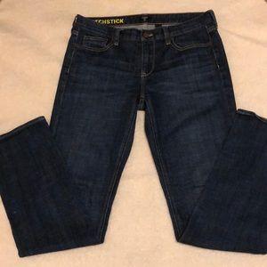 J. Crew Matchstick jeans skinny classic rinse 30R